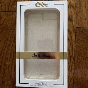 *Case-Mate iPhone 7/8 Plus Glam Sparkle Case